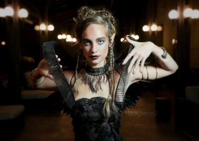 DESIGNER • model, Devon le Fae • hair, Charlotte Car Murphy • photo credit, Craig Burgwardt